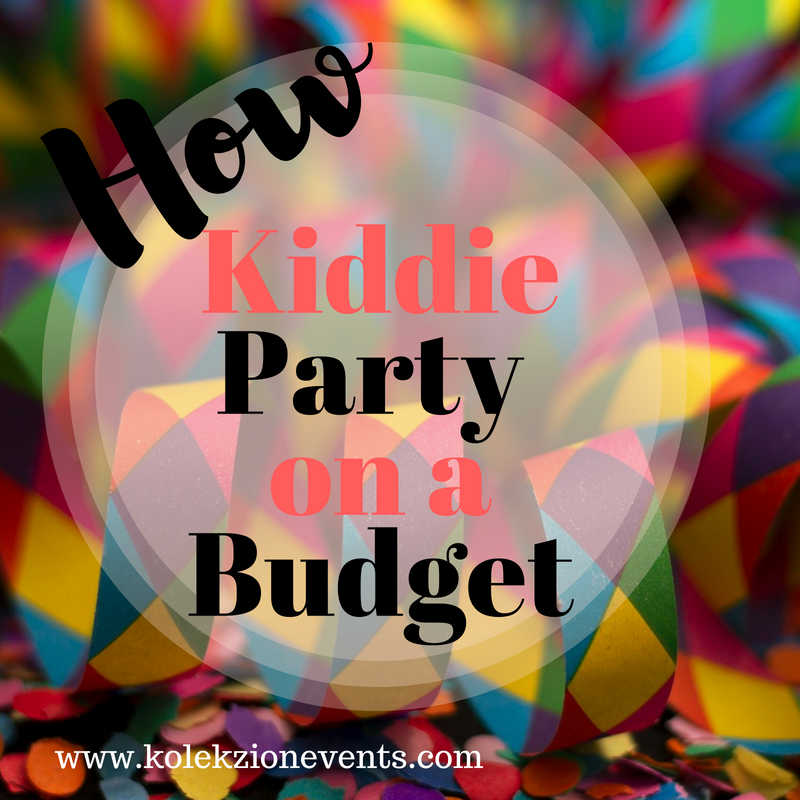 kiddie party in Laguna,planning a kiddie party, kiddie party planner