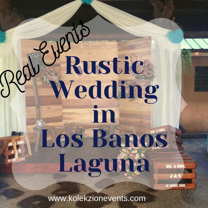 rustic wedding in los banos laguna,wedding planner in laguna,los banos laguna wedding